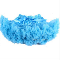 Free Shipping Super Lovely 1-8 Years Extra Fluffy Girls Tutu Pettiskirts Ball Gown Mini Princess Skirts Dance Party Skirt