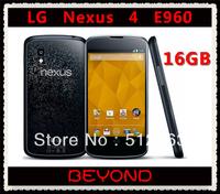 LG Nexus 4 E960 Original Unlocked GSM 3G Android WIFI GPS 4.7'' 8MP 16GB Quad-core E960 cell phone dropshipping