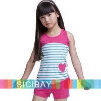 Baby Girl Clothing Girl Sets Suits Summer Children Pajamas Kids Fashion,Free Shipping  K0982