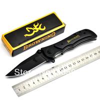 Browning 339 440C Steel Folding Knife Survival Hunting Knife Pocket Knives Black