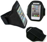 GYM Workout ArmBand phone Case Cover bag For iPhone 4 4S 4G 4GS  for 5 5G 5S 5C Running Sport Arm Band Case New