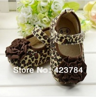 Ride with leopard flower baby shoes baby shoes toddler shoes kids shoes for girl