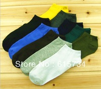 Quality Short socks 20pcs=10pairs Cotton Blends Men Sport Ankle Socks OK For US size 7-11 Unisex shorts sock Free Shipping good