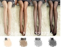 Fashion Hotsale  women's tights Ultra-thin Nylon Sexy Pantyhose  4colors  free size no package 20pairs/lot free/drop shipping