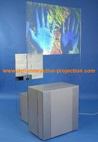 lowest price transparent color rear projection film 1.524MX5M