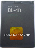 Free shipping original mobile phone battery BL-4D for Nokia N97mini E5 N8 with good quality and best price