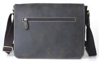 Shoulder Bag,Men Messenger Bag,Vintage Crazy Horse Genuine Leather Fashion Brand Designer Bag Simple Style Top Quality 10671