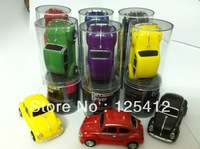 Free shipping Novelty 1GB/2GB/4GB/8GB/16GB VW Old Beetle Car Shape USB Flash Drive with free box