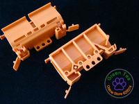 (10 pieces / lot) WAGO 222-500 Wire Wiring Connector 222 series universal terminal distribution box rail bracket