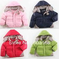 2014 Baby /Kid Duck Down Jacket Children's Outerwear Girl's Boy's Baby Wear[iso-13-9-9-A3]
