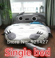 Christmas gifts HOT HOT!!SIZE:3.1x1.8m Totoro single bed/doubles/chinchillas bed,cartton bed ,FREE SHIPPING