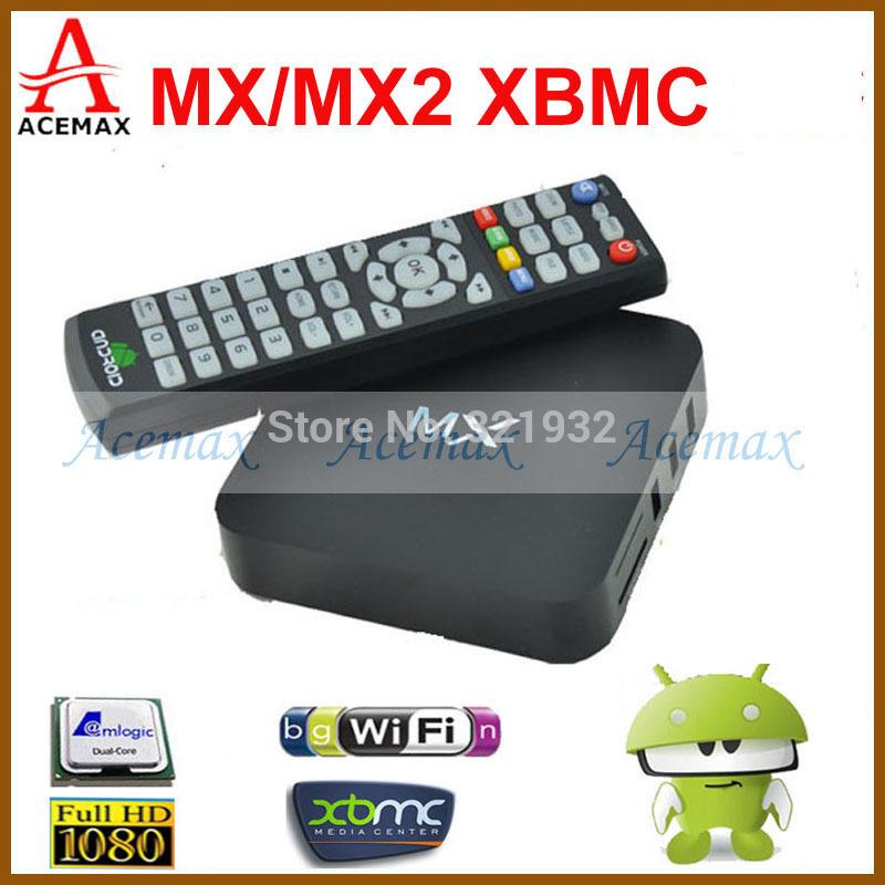 1pc Original MX XBMC Midnight Android 4.2 Dual Core TV Box 1G RAM 8G ROM WiFi Sports Adults XBMC Fully Loaded Google TV Box HDMI(China (Mainland))