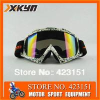 Free shipping ,Motocross Dirt Bike ATV Off-Road Snowboard  Goggles Glasses&Motorcycle Goggles& Skiing Eyewear$skiing goggles