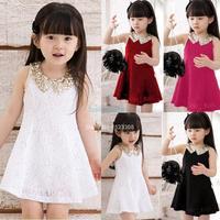 Hot 2014 Summer New Children Clothing Baby Girls Clothes Girl Dress Kids Tutu Dress Children Dress Dropshipping #3 SV000883