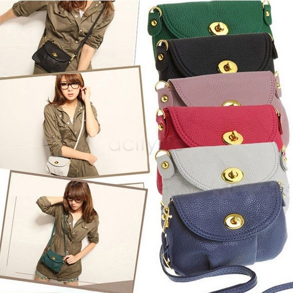 Free shipping 2014 Women Bags New Small Handbag Satchel Messenger Cross Body Bag Shoulder Bag Purse plus 14 colors 5703(China (Mainland))