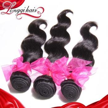 LQ Peruvian virgin hair body wave 3 pcs lot mix length, 6A unprocessed virgin human hair weave wavy free shipping LQPBW002