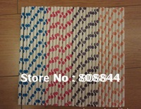 10000pcs mix colors and Drinking Paper Straw strip paper party drink straw 194 color available free shipping