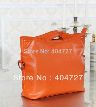 Fashionable Casual Genuine Leather Women's Shoulder Bag  Tote Handbag Retro Bag  Free Shipping