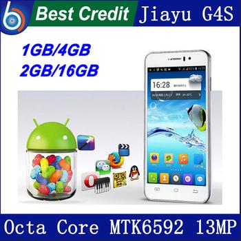 "freeshipping jiayu g4 G4s G4c phone android 4.2 1.7GHz 1GB/2GB RAM 13MP 3000mAh battery 4.7"" IPS Gorilla Screen in stock/Eva"