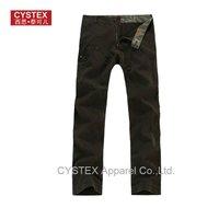 Mens Pants Men Pants Zipp Rivet Outdoors Trousers Casual Pants  Wide Leg 100% Cotton  Vintage Washed Quality Assurance #403