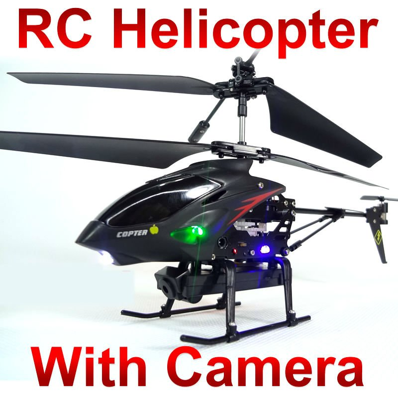 video Control Metal Gyro 3.5 CH Rc Helicopter With Camera wl s977 ID2 (iphone android control optional)(China (Mainland))