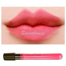 Waterproof lip gloss lipstick 11colors lipgloss velvet matte lip stick red color vitality cerise star Drop/Freeshipping #2 20097(China (Mainland))