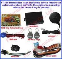 free shipping  effective key transponder chip anti-theft system 12Voltage RFID transponder immobiliser car alarm for Asia