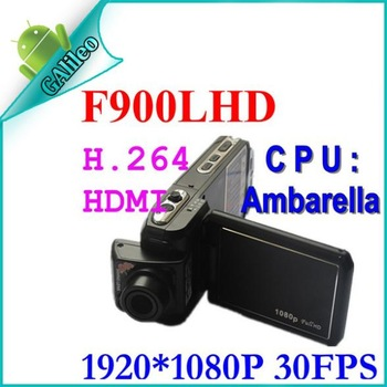 Promotion !Newest Car camera Recorder F900 TFT Screen Real HD1280*720P 30FPS Free Shipping