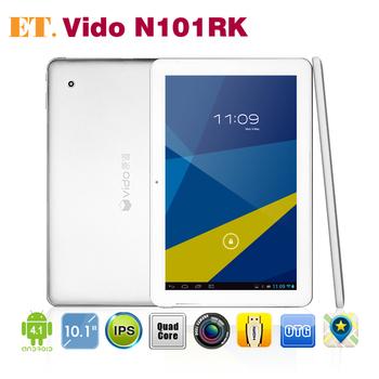 Vido N101 quad core 10.1 inch tablet pc IPS Screen RK3188 1.8Ghz 1GB 16GB WIFI HDMI 2.0MP Camera
