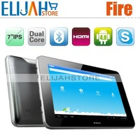 In Stock Original Ainol Novo 7 Fire/Flame Amlogic8726 Dual Core 7inch IPS 1280*800 Android 4.0 1GB 16GB Bluetooth HDMI Tablet Pc