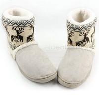 Women's Warm Animal Prints Cotton Thicken Platform Snow Boots Shoes Winter Boots B19 18389