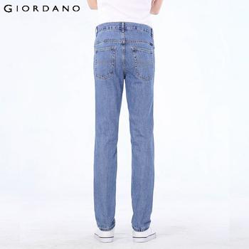 Джордано мужчины 2014 новый бренд зима мода свободного покроя джинсы джинсовые брюки брюки хлопчатобумажные классические прямые бесплатная доставка