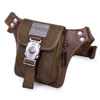 2013 outdoor sports bag canvas waist pack man bag small waist pack mens messenger bag casual bag fashion military bag belt