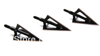 6PK allen broadhead with 3 steel blades 100 grain arrow broadheads for hunting
