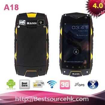 "New Arrival Original MANN ZUG3 A18 TFT Dustproof Waterproof Rugged Outdoor mobile  phone 4.0"" Screen Dual SIM RAM 4GB/4GB 2pcs"