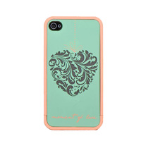 fashion luxury Lattice Bow Imperial crown  Design cases cover for iphone 4s high quality Wholesale Free shipping