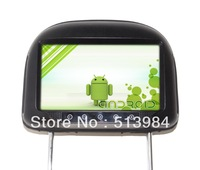 Car Headrest Player with Smart Android 4.0 Operation System 9 Inch Capacitive Touch Screen