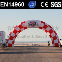 DAR22 25ft Standard Inflatable Checkerboard Archway / Race arch /Event Entrance / Finish Line / Triathlon Arch
