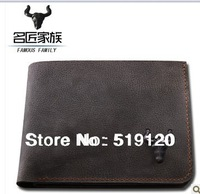 Superb Quality men wallets!100% Genuine Cow Leather wome wallets bags purse,cowhide clutch card holder,coin pocket ,fathers gift