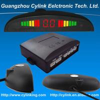 Car Park Sensor System with 4 Alarm sensor / LED Display and Voice Alarm for all cars, Car Parking Radar System