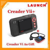 2014 New Released Original Auto Code Reader Launch X431 Creader VII + Equal CRP123 Creader VII Plus Update Via Offical Website