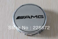 Free Shipping 4PCS 75MM Benz Emblem Wheel Center Cap AMG Badge Center Hub Caps