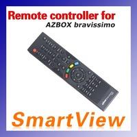 1pc Remote Controller for Azbox bravissimo satellite receiver  rc remote controller bravissimo free shipping post