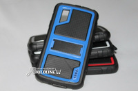 High quality Shockproof Hard Case Stand Case For LG E960 Nexus 4