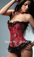 New Sexy Strapless lace up Corset Top Bustier A803 Size S,M,L,XL 2XL  Plus Size 3XL 4XL 5XL 6XL