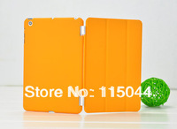 for apple ipad mini Rubberized hard case protective back cover + smart cover front case skin free shipping