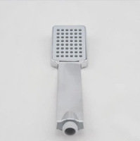 Free shipping  fashion design Pressure Boosting Water Save New Square Shower Head