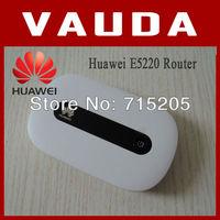 Hot item ! Unlocked Original New wireless Router HuaWei E5220 ,PK Huawei E5331 E5332 ,Hong Kong post Free shipping