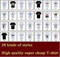 Wholesale 2015 men's clothing  cotton cheap t-shirt short sleeve summer t shirt for men slim fit Mens size:m-xxl