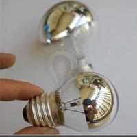 wholesale30pcs/a lot freeshipping 110v-240V E14 E27 G45 plated reflector bulb electroplate lamp new hotselling lights